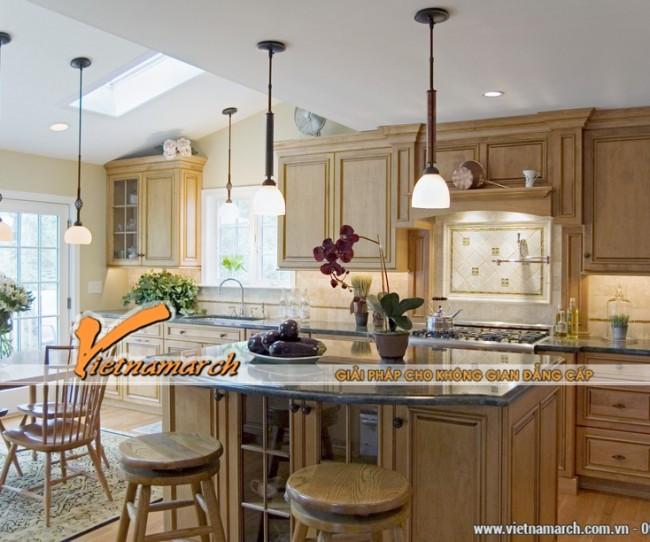 Mẫu trần thạch cao đẹp cho phòng bếp 5