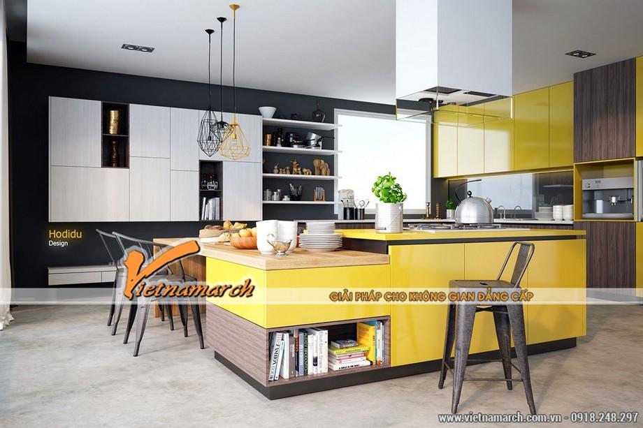 Mẫu thiết kế trần thạch cao cho phòng bếp siêu đẹp 2016- 02