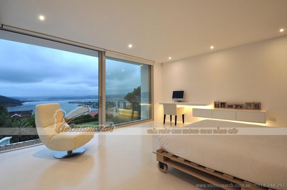 Thiết kế phòng ngủ có view hướng ra biển