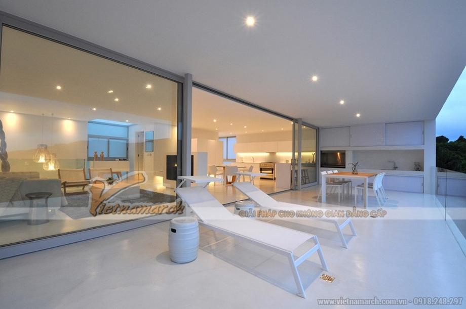 Thiết kế nội thất biệt thự như một khu nghỉ dưỡng sang trọng