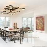 Thiết kế nội thất đương đại cho căn hộ Penthouse chung cư Him Lam Riverside
