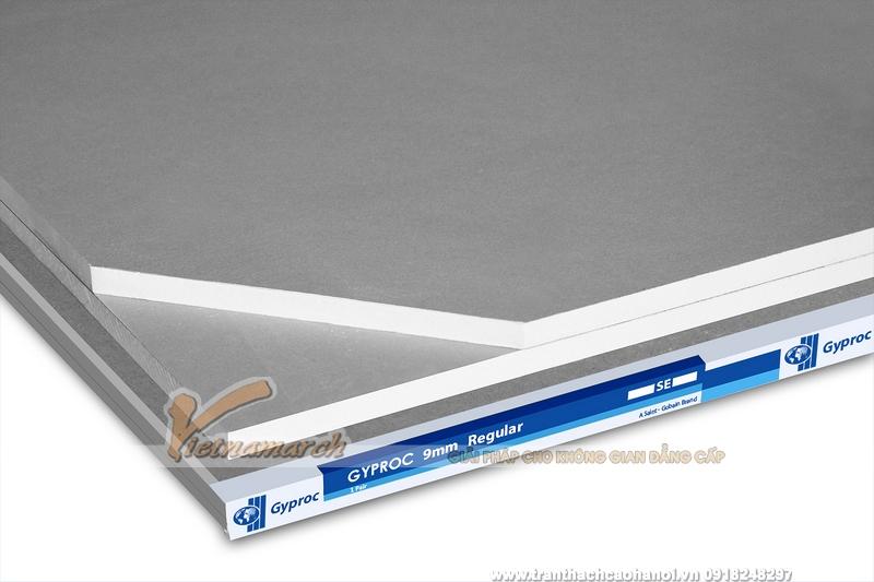 Tấm thạch cao tiêu chuẩn Gyproc-02