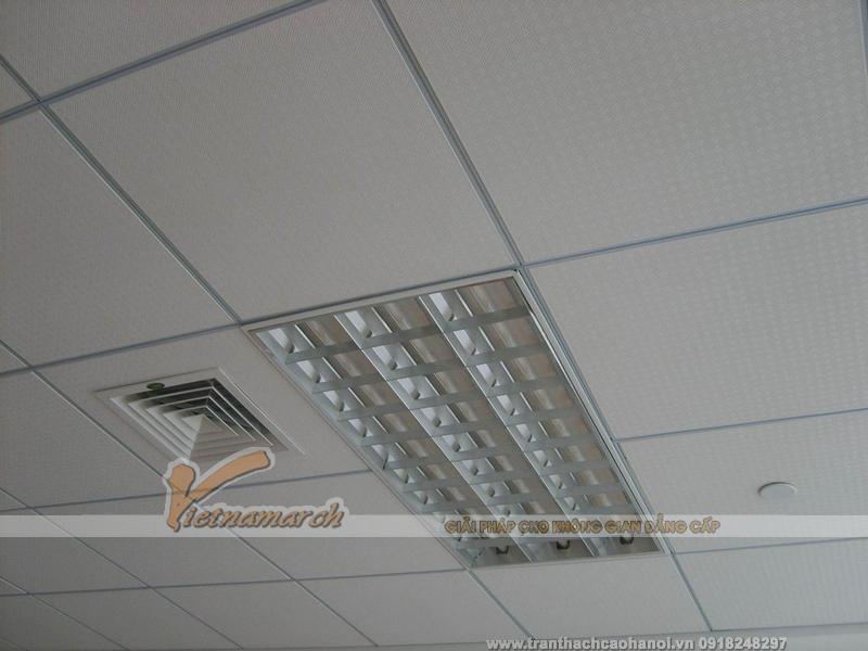 Tấm trần thạch cao phủ nhựa PVC Copra VT48-03