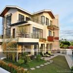 Thiết kế kiến trúc và nội thất biệt thự đẹp 3 tầng, phong cách hiện đại tại Quảng Ninh