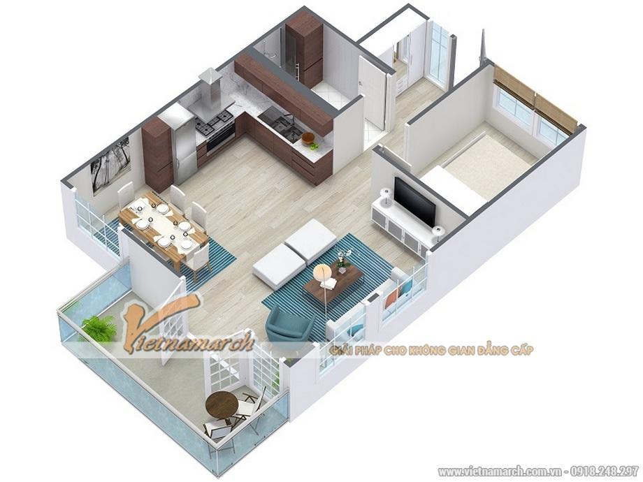 Thiết kế mặt bằng cho ngôi biệt thự cao cấp 3 tầng