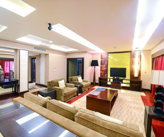 Thiết kế nội thất phòng Tổng thống có view đẹp nhất tại khách sạn InterContinental Hanoi Westlake