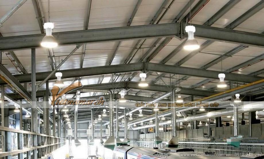 Đèn LED công suất lớn dùng trong nhà xưởng