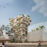 """Ngắm kiến trúc """"độc"""" với tòa nhà khung gỗ mang tên Hyperion của Jean Paul Viguier"""