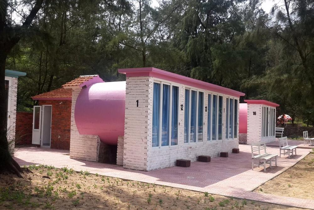 Khách sạn ống cống vô cùng độc đáo tại Hà Tĩnh