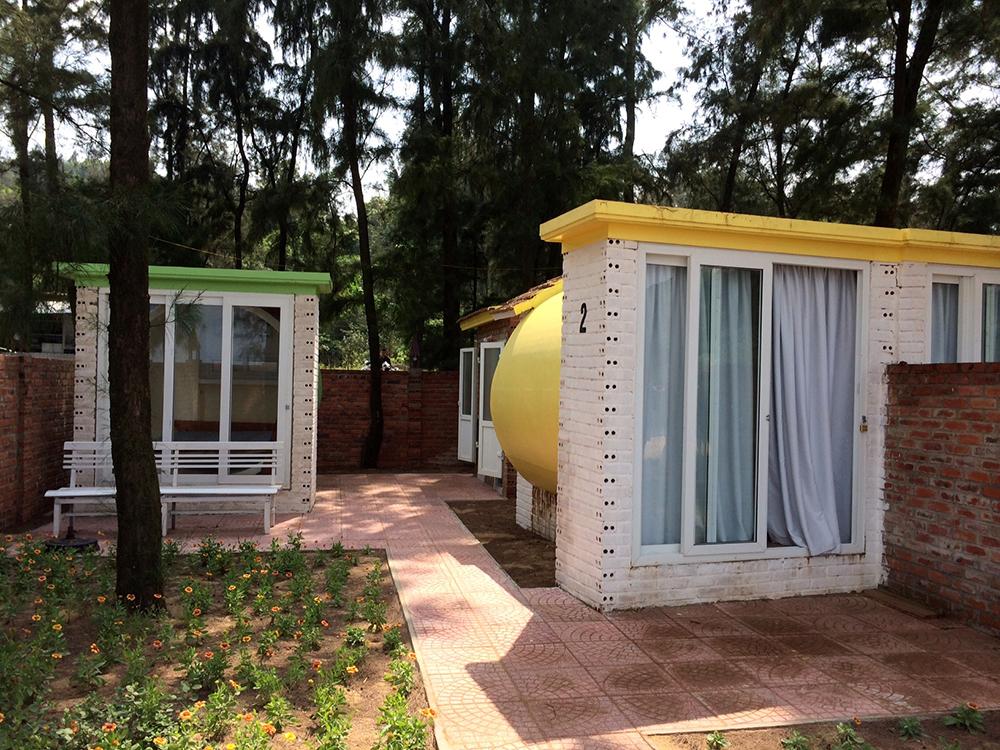 Thiết kế kiến trúc độc đáo trong Khách sạn ống cốngtại Hà Tĩnh
