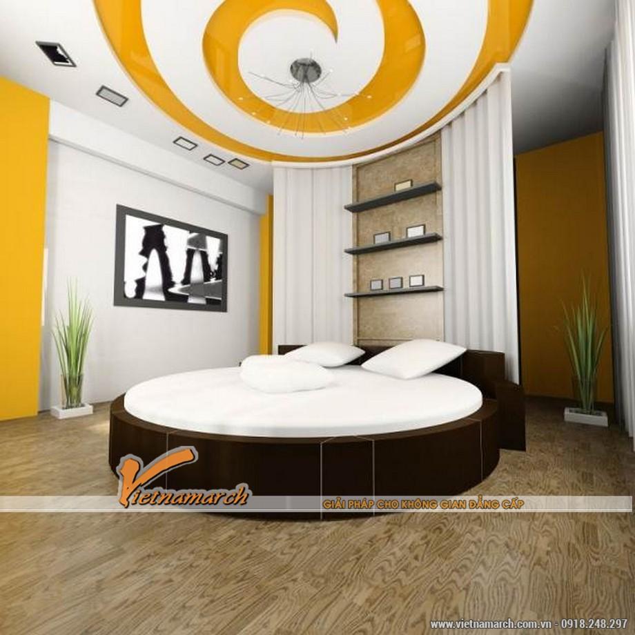 Các mẫu trần thạch cao phòng ngủ đẹp phù hợp với từng độ tuổi-02