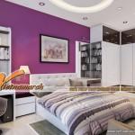 Những lưu ý về phong thủy khi thiết kế trần thạch cao cho phòng ngủ.