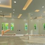 7 mẫu trần thạch cao chống nóng hiệu quả cho phòng khách