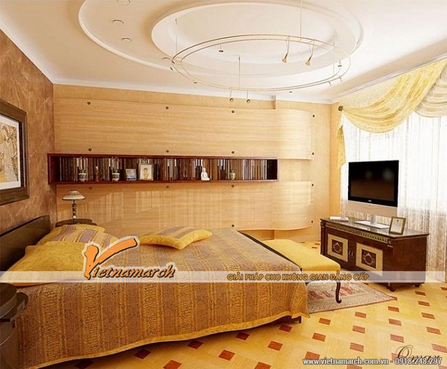 Xu hướng thiết kế mẫu trần thạch cao phòng ngủ 2016