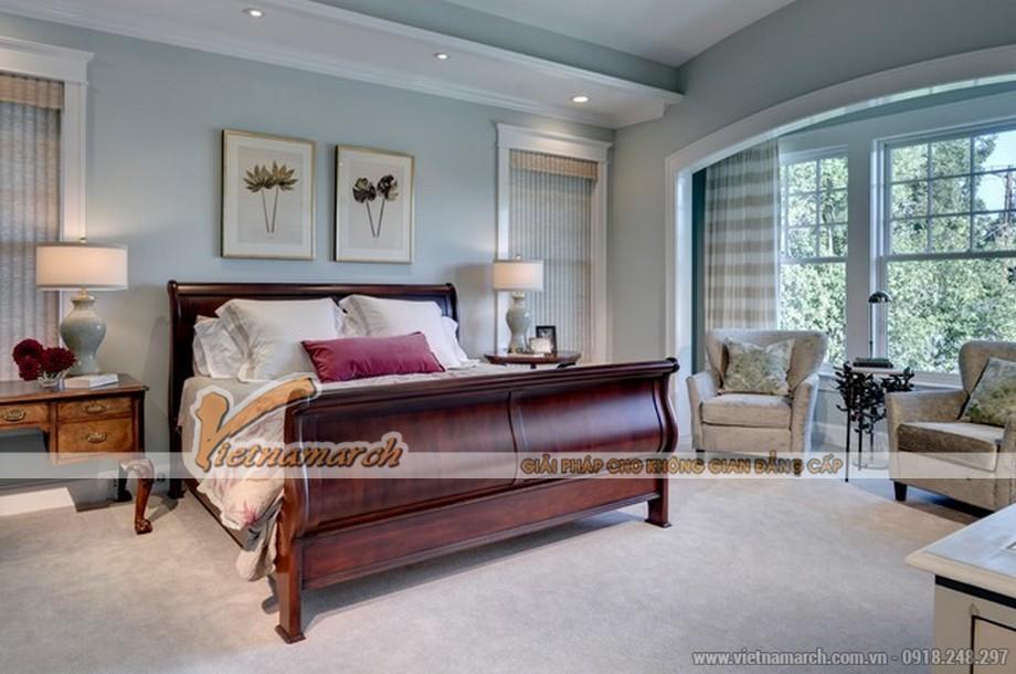 Thiết kế nội thất phòng ngủ biệt thự Quảng Ninh