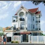 Thiết kế kiến trúc tân cổ điển cho ngôi biệt thự 3 tầng – Anh Hùng, Vĩnh Phúc