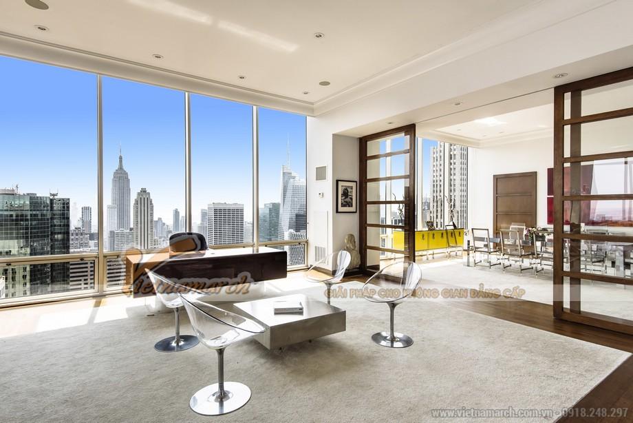 Thiết kế căn hộ Penthouse hiện đại cao cấp nhất tại tòa chung cư FLC Star Tower