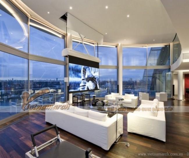 Thiết kế căn hộ Penthouse 300m2 có view tuyệt đẹp bên bãi biển Vũng Tàu