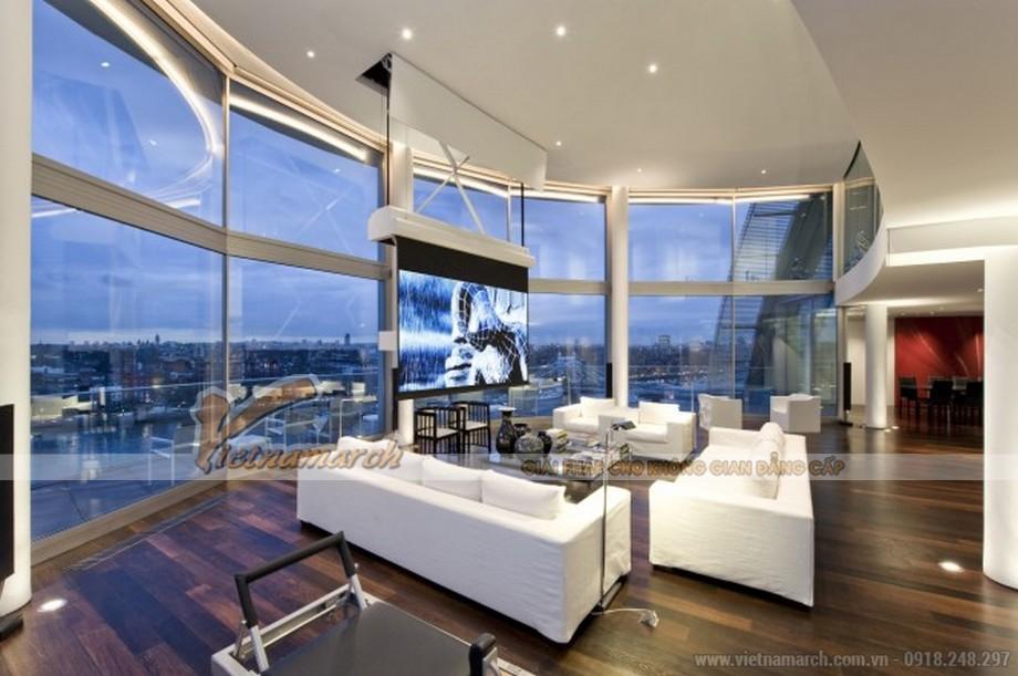 Thiết kế Penthouse sang trọng và đẳng cấp với view nhìn tuyệt đẹp