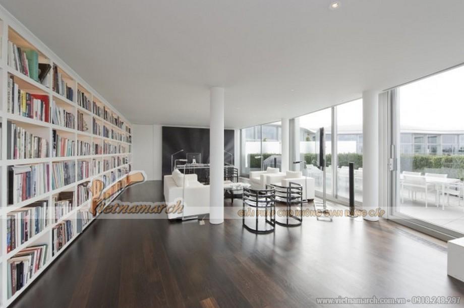 Một phòng sinh hoạt chung khác hay còn gọi là phòng đọc, phòng giải trí