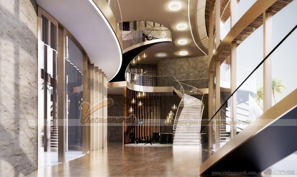 Thiết kế khách sạn cao cấp nơi đón tiếp các nguyên thủ quốc gia