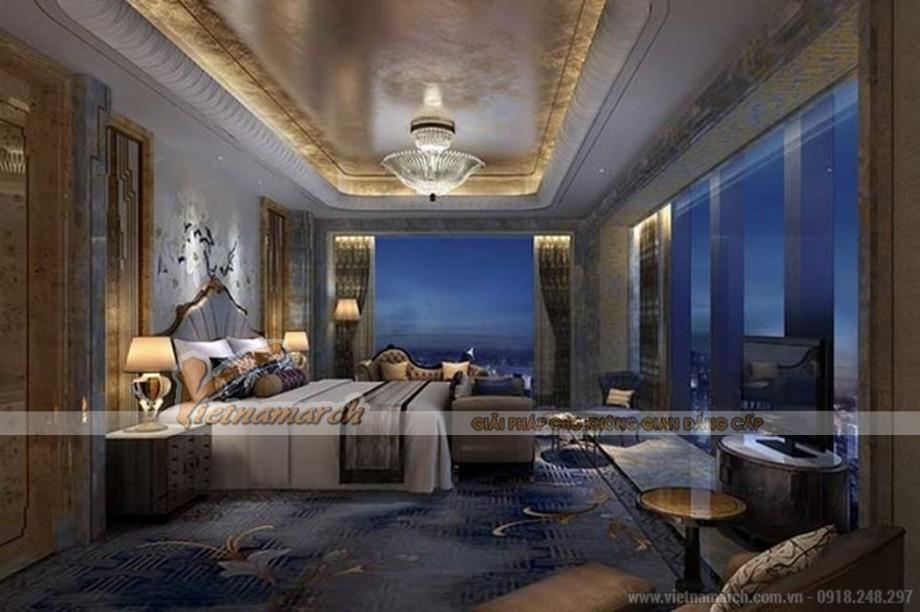 Thiết kế nội thất khách sạn 7 sao sang trọng và đẳng cấp
