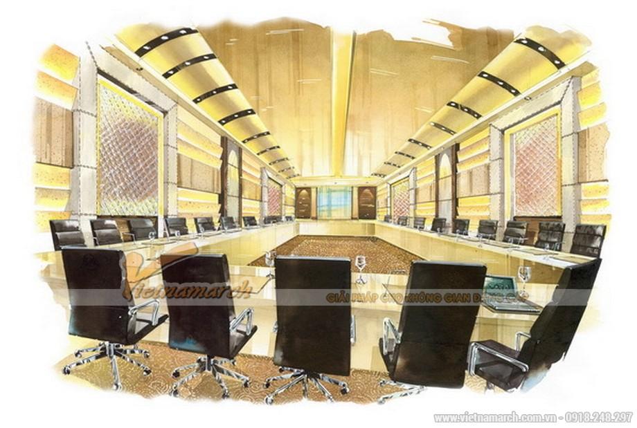 Không gian phòng hội họp tại khách sạn nhà hàng Four Wings