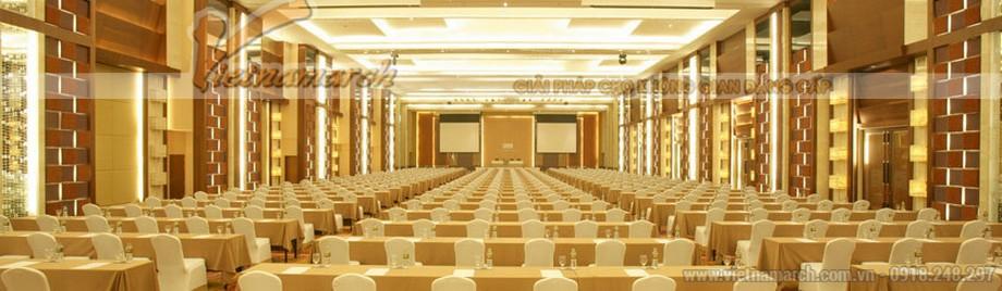 Nội thất siêu sang của phòng họp Presidence tại khách sạn