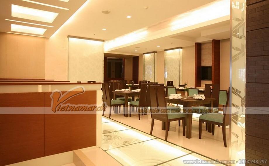 Nhà hàng Nhật được thiết kế trẻ trung, đậm nét người Nhật yêu thích sự nhẹ nhàng nhưng chuyên nghiệp