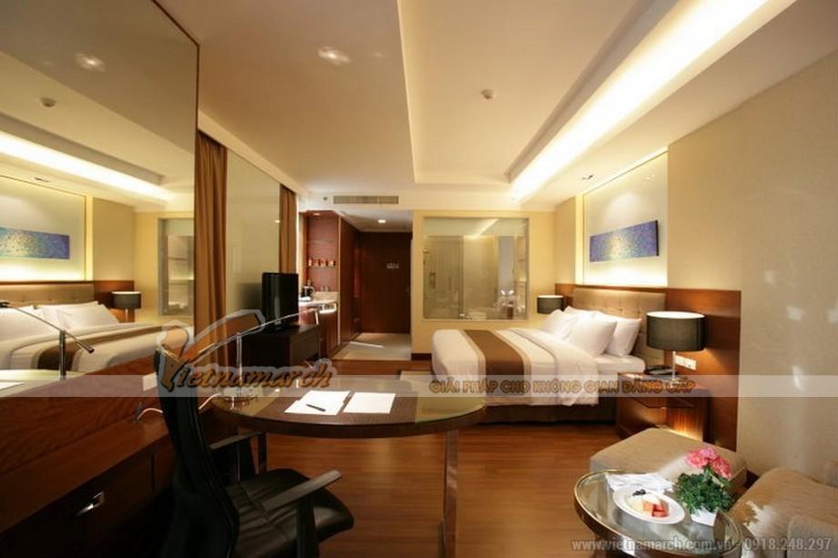 Nội thất phòng Suite tại khách sạn Four Wings