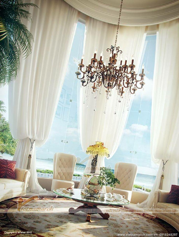 Thiết kế nội thất biệt thự nhà vườn cổ điển tại Phú Yên