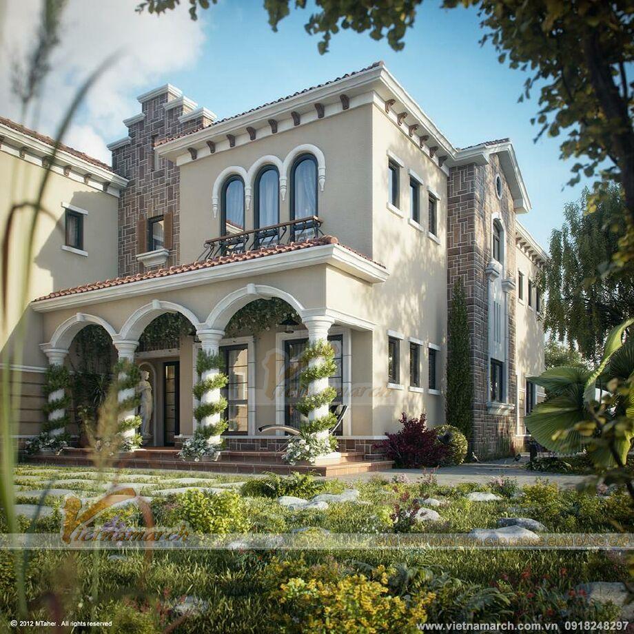 Thiết kế biệt thự nhà vườn sang trọng tại TP Hồ Chí Minh