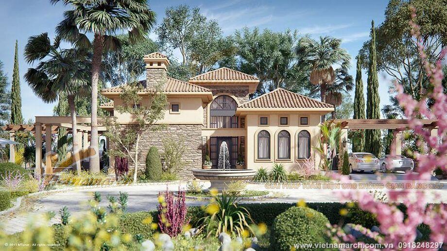 Mẫu biệt thự nhà vườn đẹp tại Yên Bái