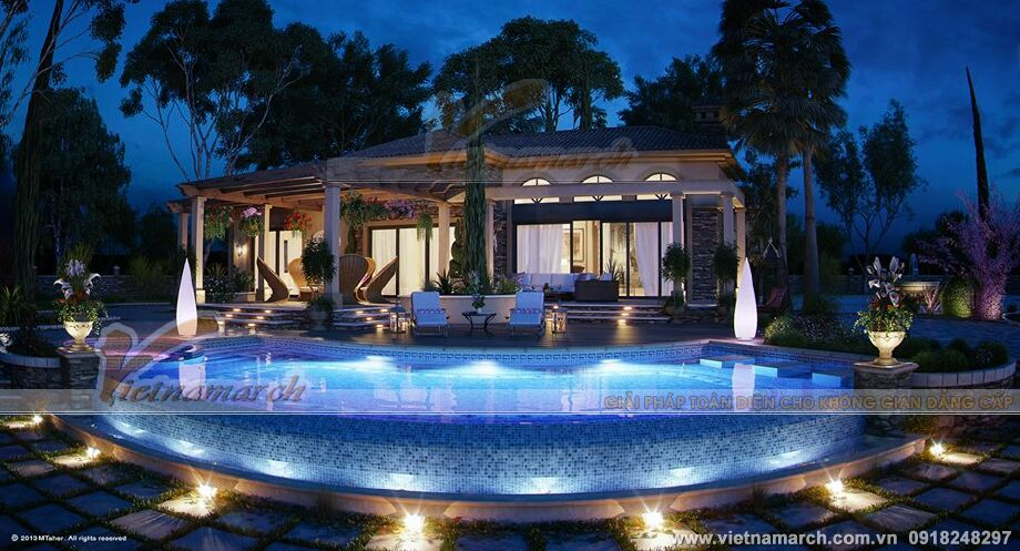 Thiết kế biệt thự nhà vườn đẹp tại Yên Bái