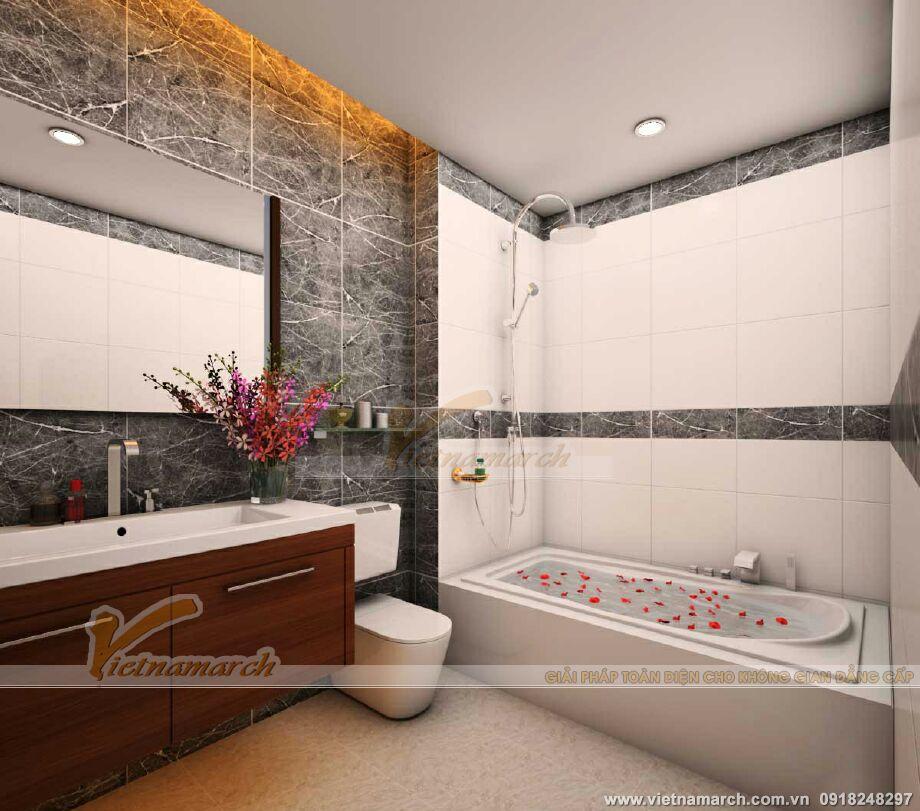 Thiết kế nội thất nhà lô phố hiện đại 4 tầng tại Thái Bình