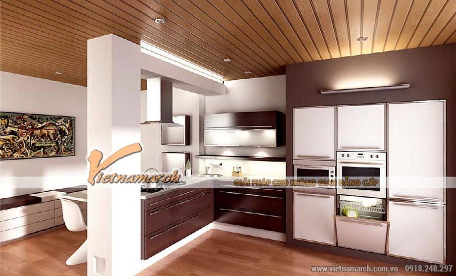 thiết kế nội thất phòng ăn nhà cấp 4