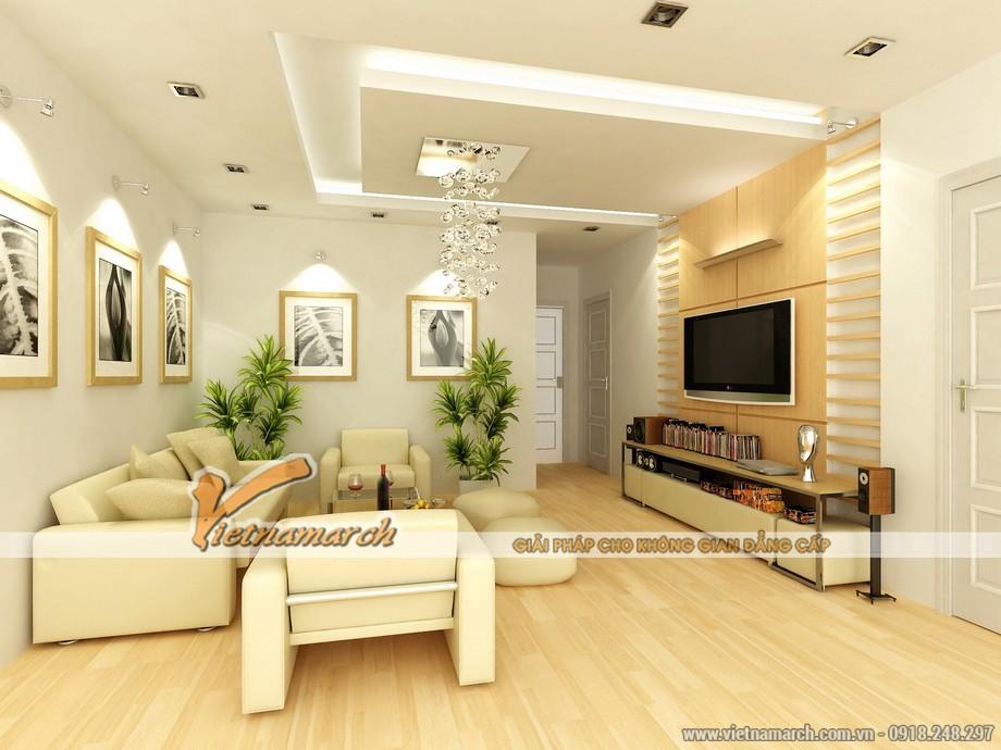 nội thất phòng khách nhà cấp 4