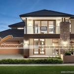 Thiết kế nhà đẹp 2 tầng mái thái hiện đại cho nhà anh Minh – Thái Bình
