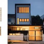 Nhà phố 3 tầng tại Tuyên Quang rộng và thoáng hơn với lối thiết kế đơn giản hiện đại