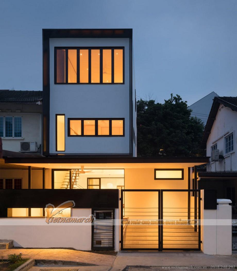 Thiết kế nhà phố 3 tầng Tuyên Quang