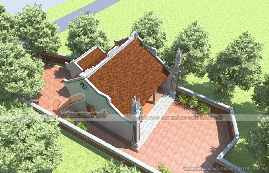 """Kiến trúc cổ xưa truyền thống miền Bắc được xây dựng theo lối chữ """"Đinh"""""""