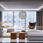 Modernism phong cách cho căn hộ 03 park 8 chung cư Park Hill Times City
