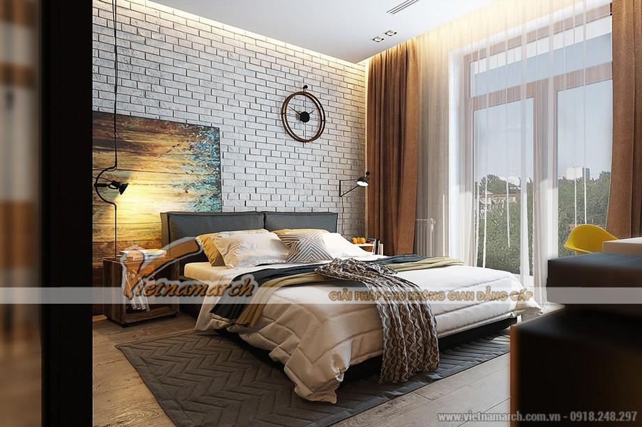 thiết kế phòng ngủ hiện đại tận dụng ánh sáng
