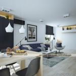 Thiết kế nội thất hiện đại cho căn hộ 01Park 8 Park Hill Times City