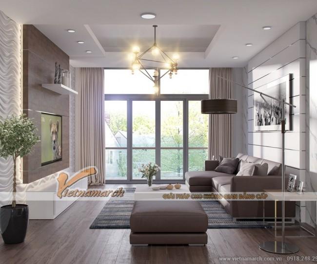 Thiết kế nội thất căn hộ 02 Park 8 chung cư Park Hill Times City phong cách Scandinavian