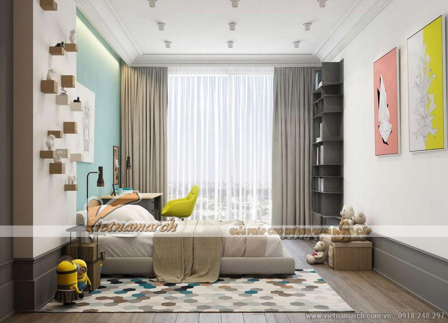 phòng ngủ cho bé của căn hộ 03 park 8