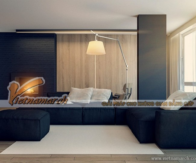 Thiết kế căn hộ 04 park 8 Park Hill Times City với phong cách Minimalism