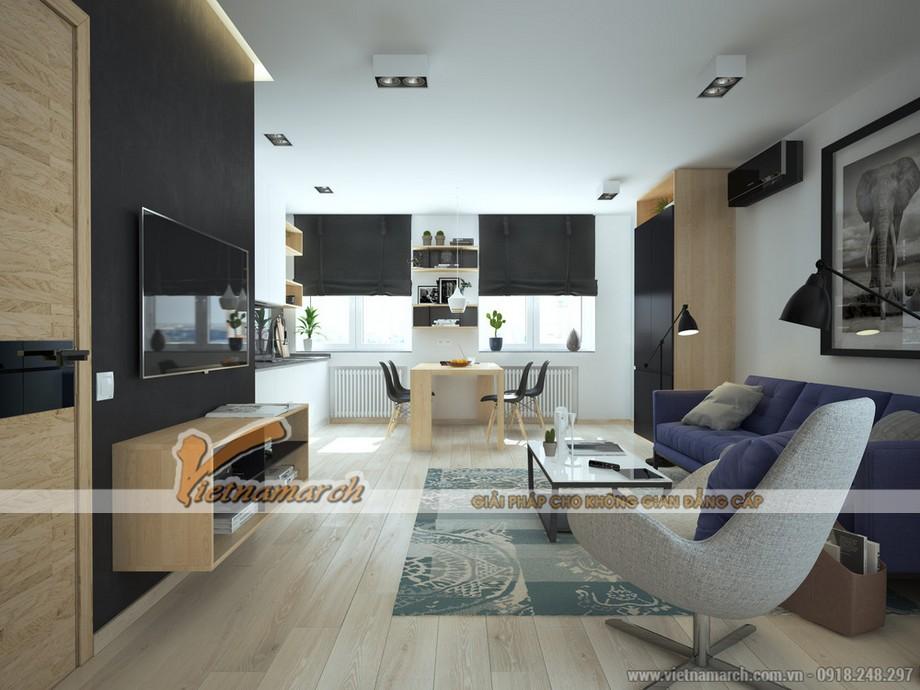 nội thất hiện đại của ngôi nhà mang đến sự năng động và tiện nghi