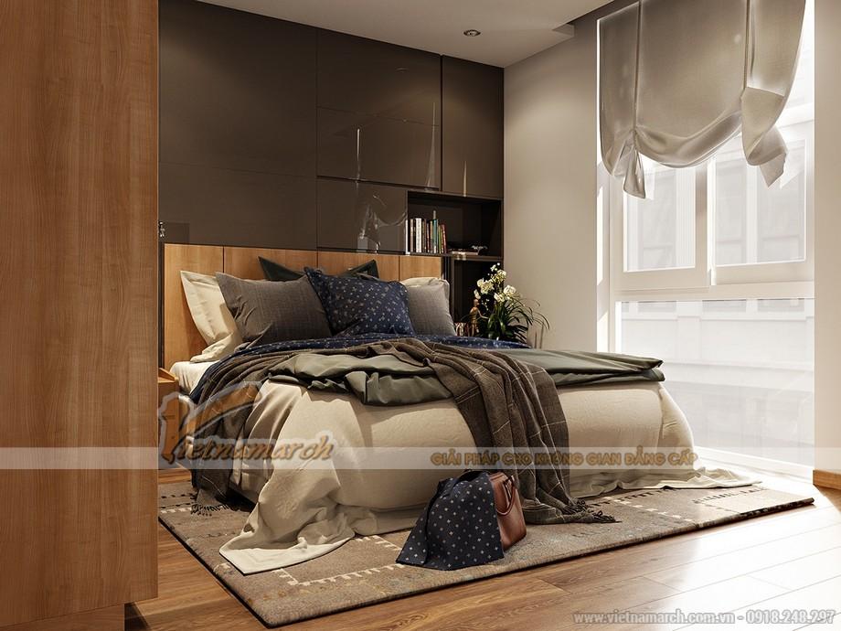 Thiết kế nội thất phòng ngủ Park Hill Times City
