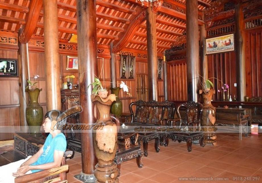 Vẻ đẹp của ngôi nhà được thiết kế theo kiểu cổ xưa của miền Bắc